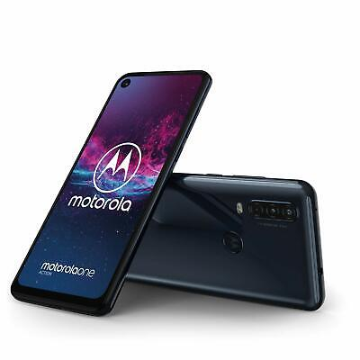 Motorola One Action - 128GB - Dual SIM Denim Blue (Unlocked) Smartphone