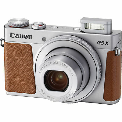 Canon PowerShot G9 X Mark II 20.1MP Digital Camera - Silver