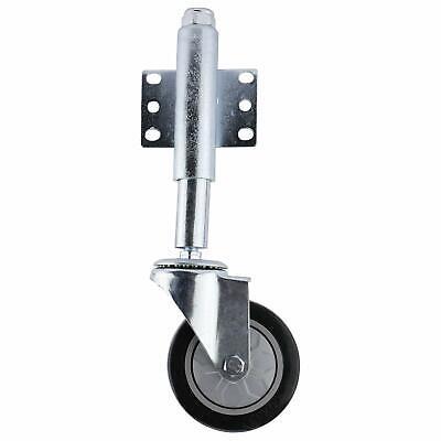 4 Gate Stem Wheel Heavy Duty Spring Loaded Swivel Caster 440lbs Free Shipping