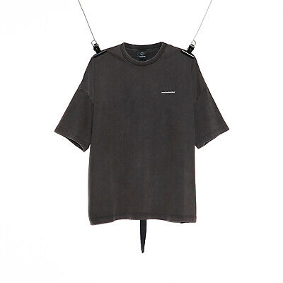 Peaceminusone PMO Vintage T-shirt #1 Charcoal Grey tee Kpop G dragon