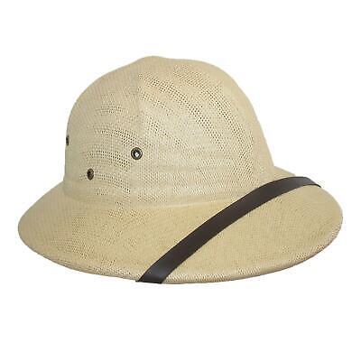 Neu Ctm Verdreht Toyo Stroh Tropen- Safari Helm Hut