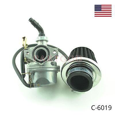 Carburetor W/ Filter for 50-125cc Dirt Bike ATV Go Kart Coolster Roketa Baja  E1, usado comprar usado  Enviando para Brazil