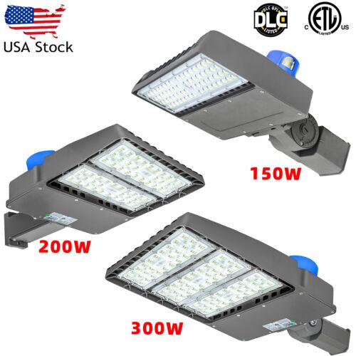 150W 200W 300W LED Parking Lot shoebox Light Fixture ETL approved Street Lamp
