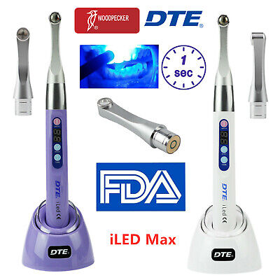 Woodpecker Dte Plus Max Dental Iled Curing Light 1 Second Cure Lamp 2500mwc
