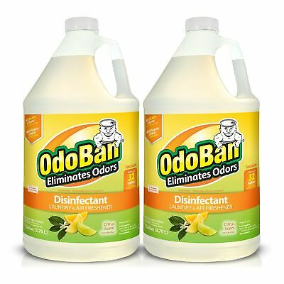 128 Ounce Liquid Concentrate (OdoBan Odor Eliminator, Disinfectant Concentrate, Citrus Scent 128 oz., 2 ct.  )