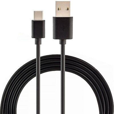 3x USB 3.1 USB-C Ladekabel 2m Schwarz - Sync Daten Kabel Typ-C Type-C Datenkabel