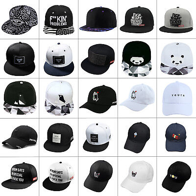 bbf73c683 Adjustable Men Women Snapback Baseball Cap Hip Hop Sunshade Hat Street Cool  Bboy