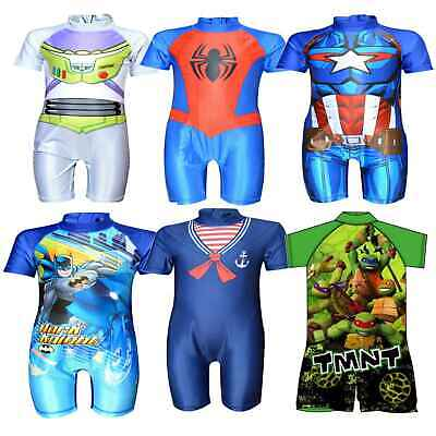 Boys Swimwear Swimsuit Surf Suit Childrens Character Swimming Costume Age 1-5 Yr](Boys Character Costumes)