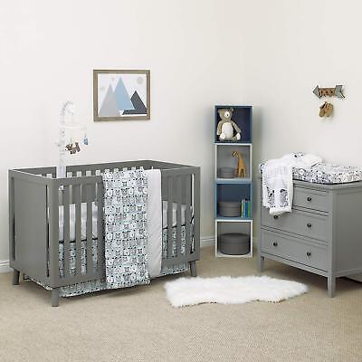 (Dwell Studio Bear Hugs 3 Piece Nursery Baby Crib Bedding Set)
