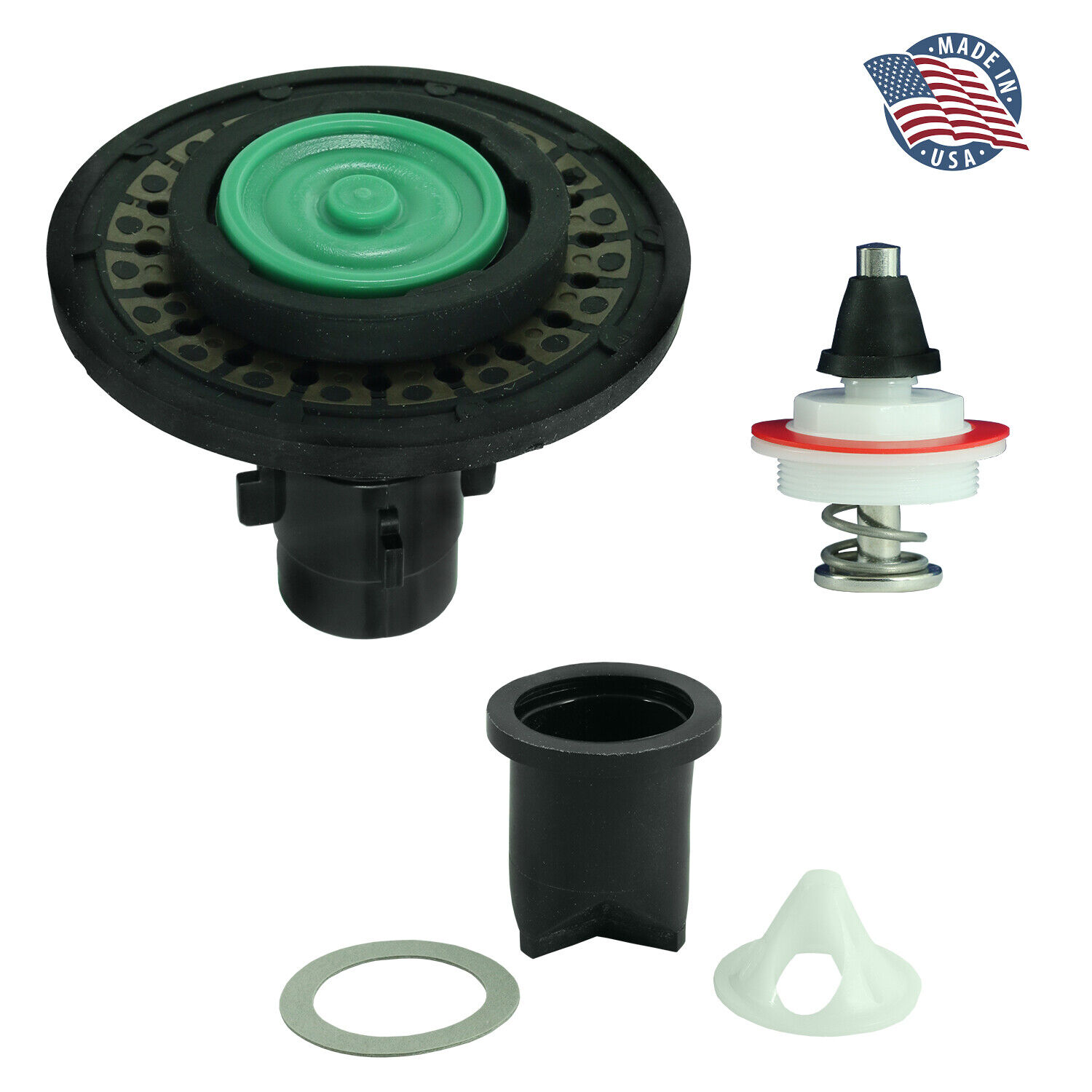 FlushLine Full Assembly Replacement Kit for Sloan 3301041 A-41-A 1.6 GPF Drop-In Home & Garden