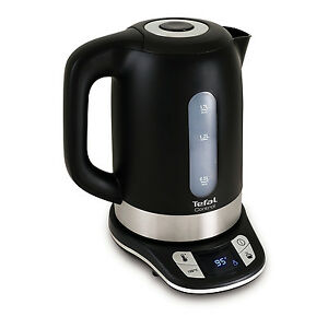 Tefal-1-7-Litre-Temperature-Control-Cordless-Fast-Boil-Electric-Kettle-Black-New