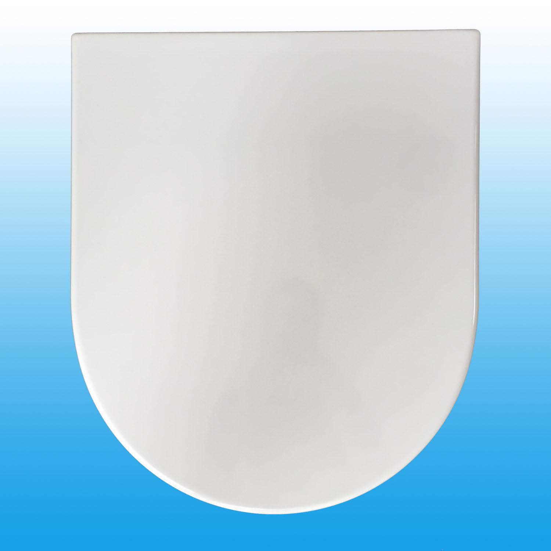 WC-Sitz für ROCA NEXO SoftClose Absenkautomatik mit Edelstahlscharnier weiß