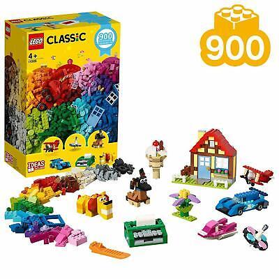 NEW SEALED 11005 LEGO Classic Basic Brick Construction Set 900 Pieces Age 4+ Mix