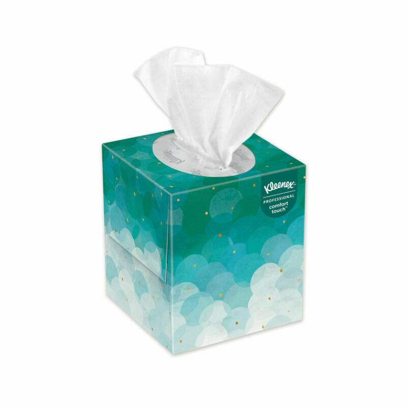 Kleenex White Facial Tissue 2-Ply Pop-Up Box 95/Box 6 Boxes/Pack 21271