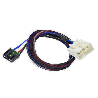 Brake Control Wiring Adapter - TRAILER BRAKE CONTROL WIRING ADAPTER FOR 16-17 TOYOTA TACOMA  2-PLUG PLUG & PLAY