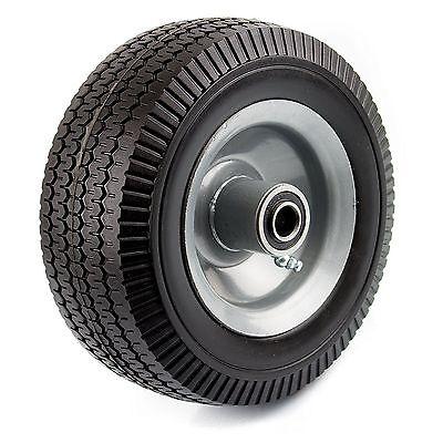 Nk Wff8 Heavy Duty 8-inch Solid Rubber Flat Free Tubeless Hand Truck Tire Wheel