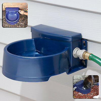 Automatic Pet Waterer Outdoor Cat Water Dispenser Auto Dog Bowl Dish Supplies