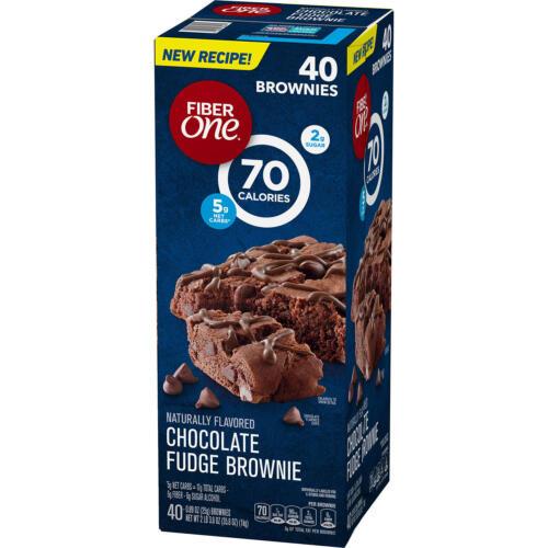 Fiber One Chocolate Fudge Brownies (0.89oz / 40pk)