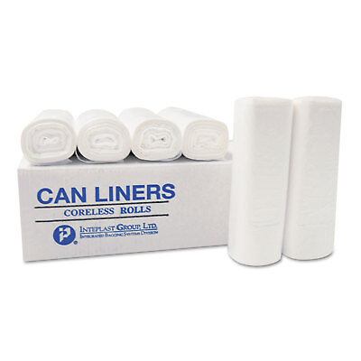 Inteplast Group High-Density Can Liner 20 x 22 7-Gallon 6 Micron Clear 50/Roll