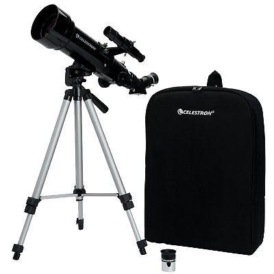 Celestron Mundane Astronomical Compact Telescope Travel Scope 70x400 21035
