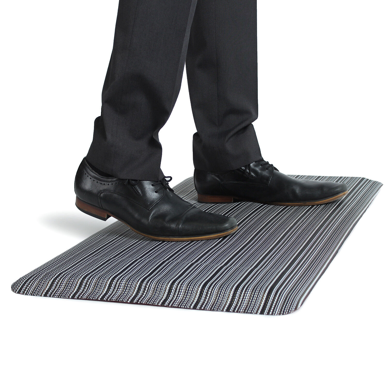 Anti fatigue floor mat 200mm hole saw