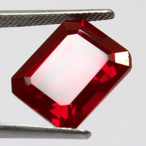 11.00 Ct Natural Certified MOGOK Pigeon Blood Red Ruby Unheated Loose Gemstones