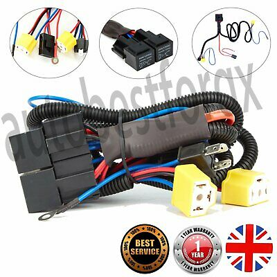 For T4 Transporter Uprated Headlight Wiring Loom Harness Plug&Play Upgrade H4