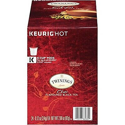 Twinings Chai Tea K-Cups, 24 pk, .12 oz