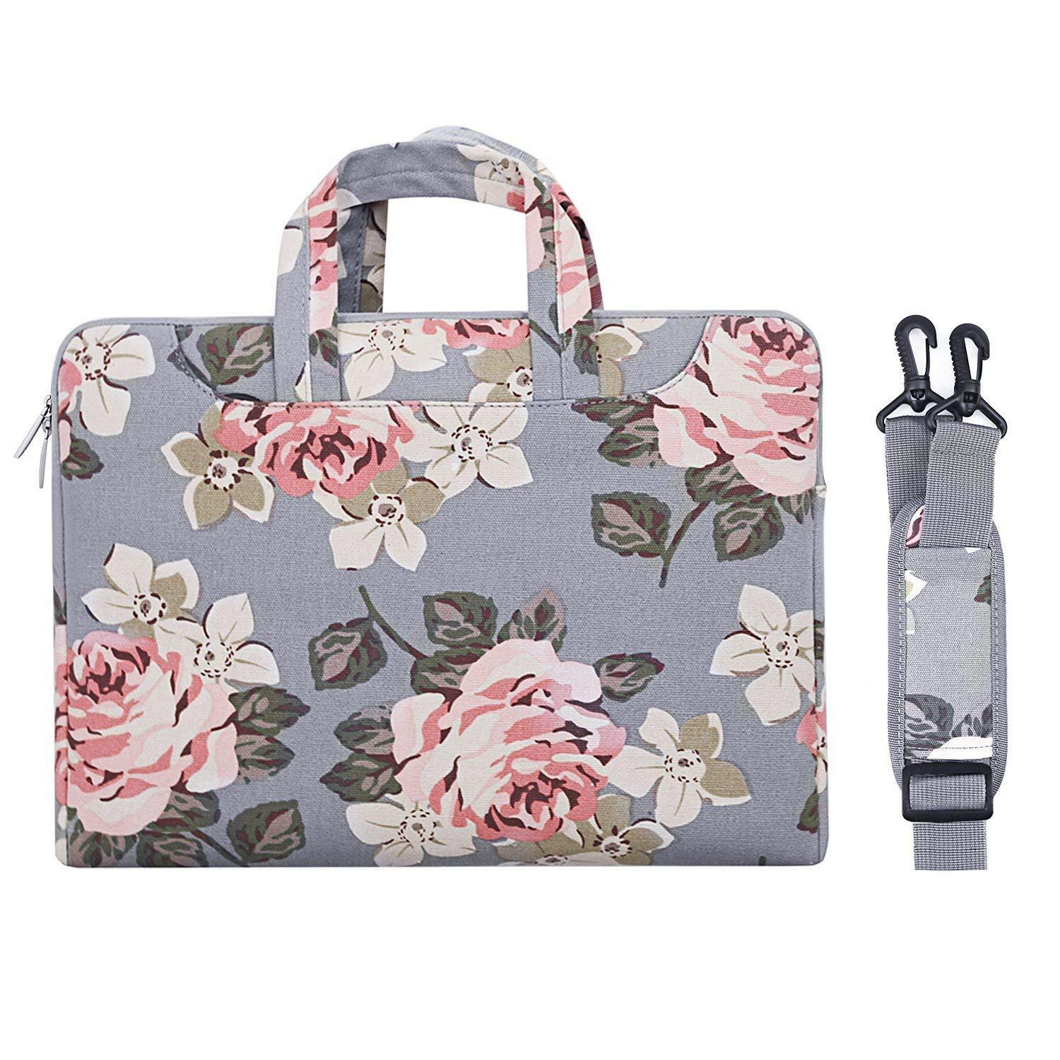 13 13.3 14 15.6 inch Laptop Canvas Bag Case for Macbook Air
