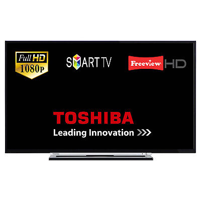 """Toshiba 49L3753 49"""" Smart LED TV Full HD With Freeview HD And Freeview Play"""