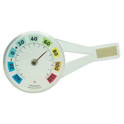 14.6019 La Crosse Technology TFA Plastic Indoor/Outdoor Window Thermometer