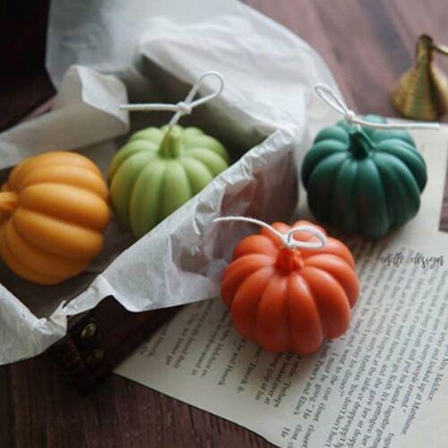 Pumpkin Mold Silicone 3D Mini Pumpkins Molds Crafts Candle Soap DIY Moulds Decor