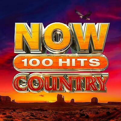 NOW 100 HITS COUNTRY 5 CD - Various Artists (New Release 13/03/2020) - PRE-ORDER
