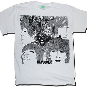 THE-BEATLES-T-SHIRT-REVOLVER-100-OFFICIAL-JOHN-LENNON-PAUL-MCCARTNEY
