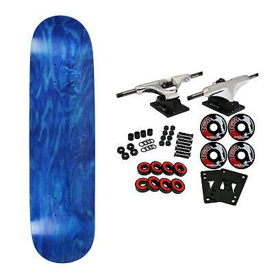 6a60837b BLANK COMPLETE Skateboard BLUE 7.75 Skateboards HOT!!