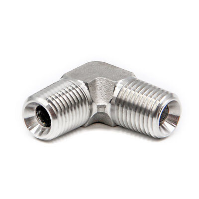 Hfsr Stainless Steel 304 Forged Pipe Fitting Elbow 14 Npt Male