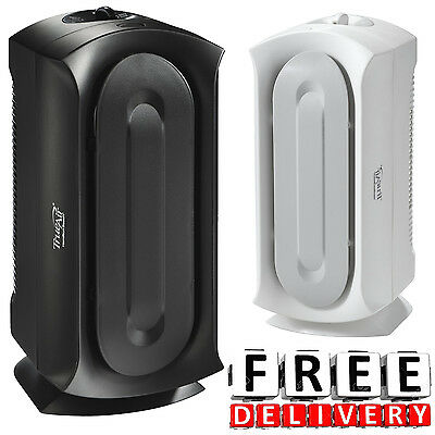 Home Air Cleaner Large Room Air Purifier Hepa Allergen Reducing System Unit New