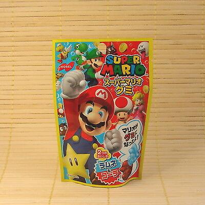 Japan SUPER MARIO - Ramune & Cola GUMMY Candy Japanese Nobel Soft Gummi Mario