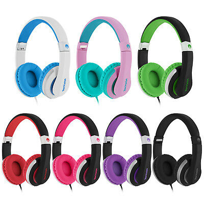 RockPapa Stereo Foldable Adults Kids Headphones Headsets Adjustable MP3/4 PC DVD
