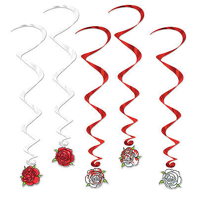 5 Alice In Wonderland Party Decoration Painting The Roses Red ROSE WHIRLS - Alice In Wonderland Decor
