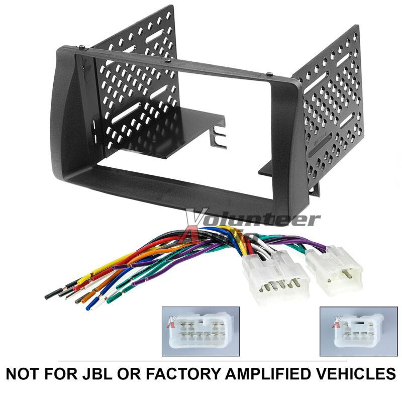 Toyota Corolla Double Din Car Stereo Radio Install Dash Bezel Kit Wiring Harness