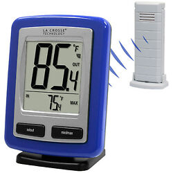 WS-9009B-IT La Crosse Technology Wireless Weather Station Thermometer TX38U-IT