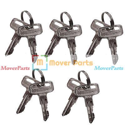 5 Pairs Ignition Key 9901 2860030 For Jlg Scissor Lift 400s 600a 600aj 460sj