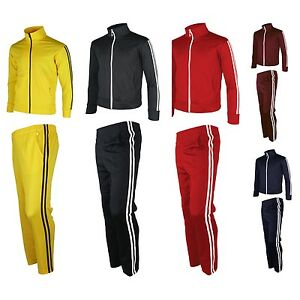 Mens-Womens-Running-jogging-Track-Suit-warm-up-pants-jackets-gym-training-wear