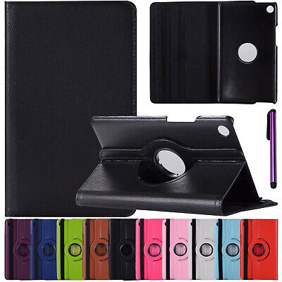 360 Rotate PU Leather Slim Cover Case for Huawei Mediapad T1 M2 M3 M5 7