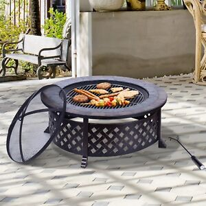 Foyer Barbeque Grill de 34""