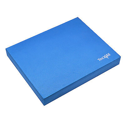 Yes4All Balance Pad Yoga Disc Stability Training Fitness Elite BLUE L - ²3D