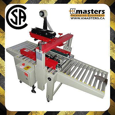 Carton Box Case Sealer Carton Tape Sealing Machine Plus Csa Certified