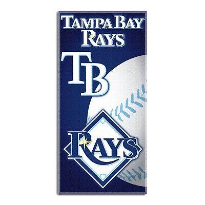 TAMPA BAY RAYS BEACH TOWEL MLB BASEBALL TEAM LOGO POOL BATH TOWEL 30