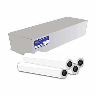 Alliance 24150 Cad 24 Inch X 150 Foot Bond Paper Roll With 2 Inch Core 4 Pack